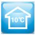 ПОДДЕРЖАНИЕ +10 °С В РЕЖИМЕ ОБОГРЕВА