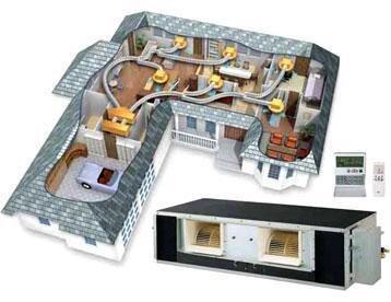 Домашний канальный кондиционер купить кондиционер в спб lessar